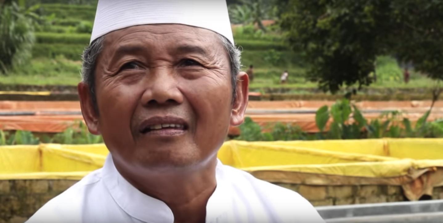 abah nasrudin maestro lele sangkuriang indonesia