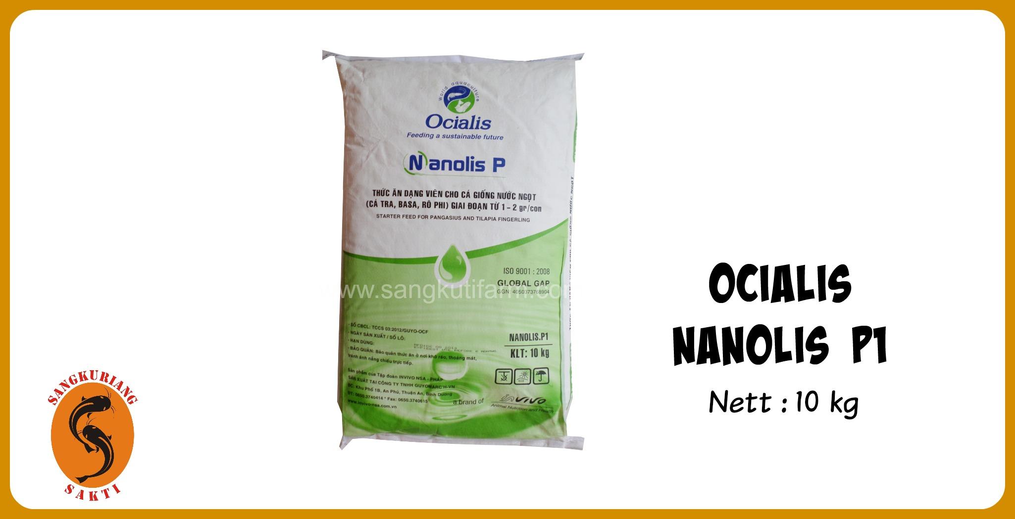 jual pakan NANOLIS P1
