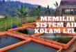 sistem air kolam lele