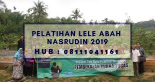 Pelatihan Lele Abah Nasrudin 2019