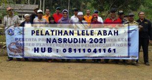 Pelatihan Lele Abah Nasrudin 2021